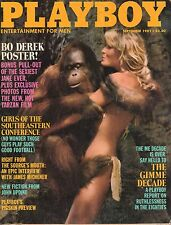 September 1981 Playboy Bo Derek Tarzan Poster Fast Times At Ridgemont High