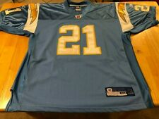 New listing Authentic LaDainian Tomlinson Chargers Reebok Jersey Sz 50 powder blue throwback