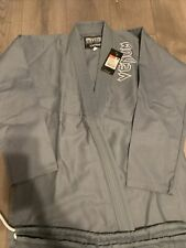 Venum Contender Jiu Jitsu Gi / Kimono - Grey Bjj New with tags size A2.5