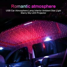 LED Car Roof Star Night Lights Projector, Lamp decorative with USB, adjustable