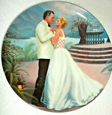 Some Enchanted Evening South Pacific Collector Plate Elaine Gignilliat 1st Issue