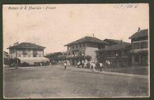 PIEMONTE.Torino, Campo di S. Maurizio - Piazza. Bella cart. viaggiata nel 1904