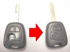 Reparatur-service für Peugeot 107 206 307 308 Schlüsselanhänger + Neu Gehäuse