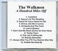 WALKMEN, The A Hundred Miles Off advance promo acetate 2006 CD 12 TRACKS