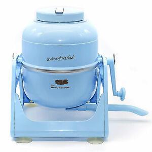 The Laundry Alternative Wonder Wash Retro Portable Mini Washing Machine, Blue