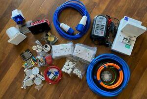 Campervan Wiring Kit Peugeot Citroen VW 230v 240v 12v Mains Conversion