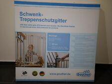 Geuther - Schwenk-Treppenschutzgitter 2733, natur, Neu/OVP 70-111 cm verstellbar