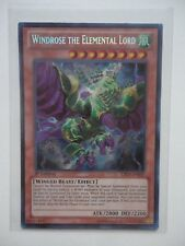 WINDROSE THE ELEMENTAL LORD LTGY-DE037 SECRET RARE 1.EDITION - AMERIKANISCH