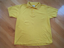 LACOSTE POLO GOLF YELLOW 100% PIQUE COTTON  SIZE 7 (XLARGE)