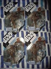 star wars 30th anniversary mcquarrie chewbacca figures mosc 2007
