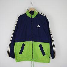 Vintage Mens Adidas EQT Split Hooded Wind Jacket Shell 90s Suit 2XL XXL 2497