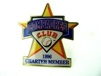 MLB San Diego Padres 1996 Compadres Club Charter Member Hat Lapel Pin