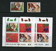R464  Philippines  1997  Year of the Tiger  set & sheets    MNH