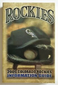 Colorado Rockies Official Information Guide 2009 MLB
