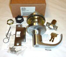 Falcon T351Pd Qua 626 Commercial Closet Door Lock Grade 1 w/ Keys Satin Chrome