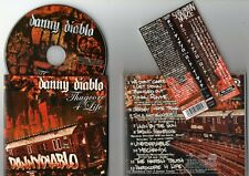 DANNY DIABLO - Thugcore 4 Life - 2008 Japan obi ** SKARHEAD , CROWN OF THORNZ