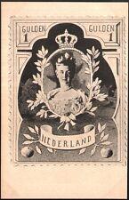 Espinasse. Série des timbres à figures politiques. Pays Bas. La Reine Wilhemine