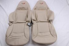 Custom Made 1997-2004 C5 Corvette Real Leather  Seat Covers for Sport Seats Oke