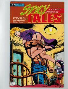 Spicy Tales #17 Comic Book April 1990 Eternity Comics