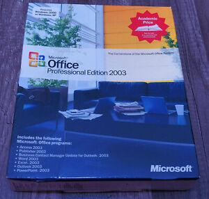 BRAND NEW Microsoft Office 2007 Professional UPGRADE Win XP thru 7/10 269-11093