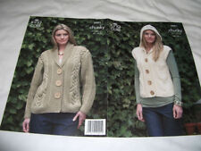 Women's Chunky Cardigans Patterns