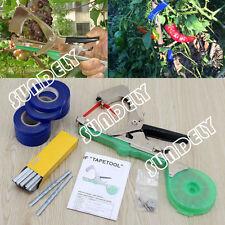 NURSERY PLANT TYING TAPETOOL TAPENER MACHINE +10 rolls tape+staples+Extra Blade