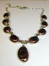 e0d23af6ef7e Liz Claiborne Marrón Chocolate Perla Sintética Color Plata 19