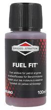 BRIGGS & STRATTON Petrol Stabilizer FUEL FIT ADDITIVE 100ml fuel petrol fresh