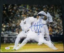 C.C. Sabathia NY Yankees PSA/DNA signed 11x14 authenticated photo autograph