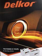 Mazda CX5 diesel start stop battery