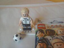 Lego Minifigures futbolista alemán Schurrle #9 equipo DFB 71014 Mini Figura Rara