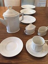 Royal Copenhagen White Fan China - Cup & Saucer Set ONLY