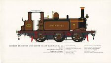 London Brighton & South Coast Railway locomotive #82 Boxhill 1880 Stroudley 1967