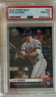 2019 Topps Now PETE ALONSO NY Mets RC #32 First Career HR PSA 10 SHORT PRINT!