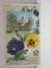 Compliments of the New Sewing Machine Co. Orange, Massachusetts Trade Card