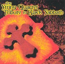 Used String Quartet Tribute to Black Sabbath CD