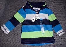 Est. 1989 PLACE CHILDRENS BOYS 6-9 Mo FLEECE HALF ZIP PULLOVER TOP SHIRT NWT