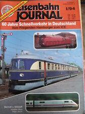Eisenbahn Journal Sonder-Ausgabe n°1 1994 - 60 Jahre Schnellverkehr in DE- Tr.23