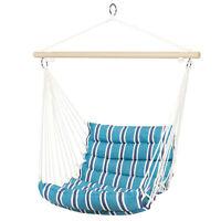 BCP Padded Indoor/Outdoor Cotton Hammock Chair w/ 40in Spreader Bar
