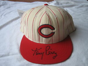 Tony Perez SIGNED Cincinnati Reds Cooperstown Collection Hat Autographed