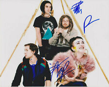 Hiatus Kaiyote Band Signed 8x10 Photo c Choose Your Weapon