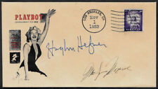 1st 1953 Playboy Hugh Hefner Autograph Reprint on Collector's Envelope OP1193