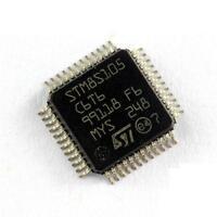 1PCS STM8S105C6T6 STM8S105C6 8-bit 32k Flash STM8S Microcontroller LQFP-48 NEW