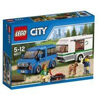 LEGO CITY  60117 FURGONETA Y CARAVANA