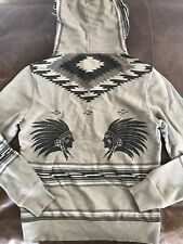 New Polo Ralph Lauren Denim and Supply Hoodie Pullover Indian Head M Slim Fit