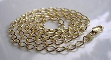GENUINE 9ct gold chain gf CHEAPEST ON EBAY, FREE POSTAGE IF YOU BUY TODAY {014}