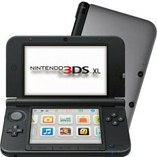 Nintendo 3ds XL Handheld Console Records 3d Video Footage - Silver Black