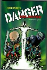Danger Unlimited - The Phoenix Agenda, Hardcover Book, Signed by JOHN BYRNE, AP