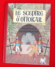 Les aventures de Tintin. Fac similé LE SCEPTRE D'OTTOKAR EO couleurs de 1947