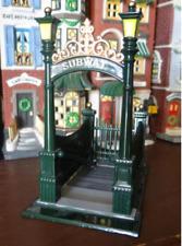Department 56 heritage village City Subway Entrance 5541-7 (Lot 154)
